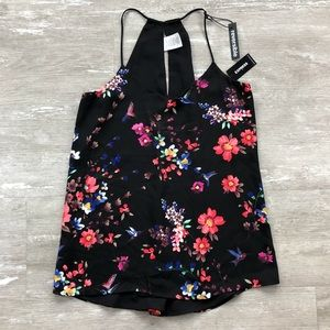 ⭐️NWT XS EXPRESS REVERSIBLE FLORAL CAMISOLE *SALE*